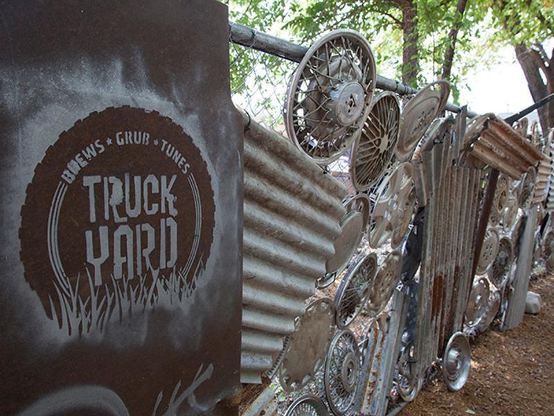 truck yard hubcaps