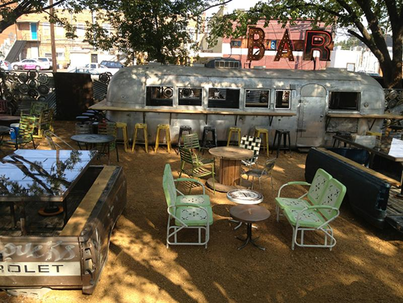truck yard seating