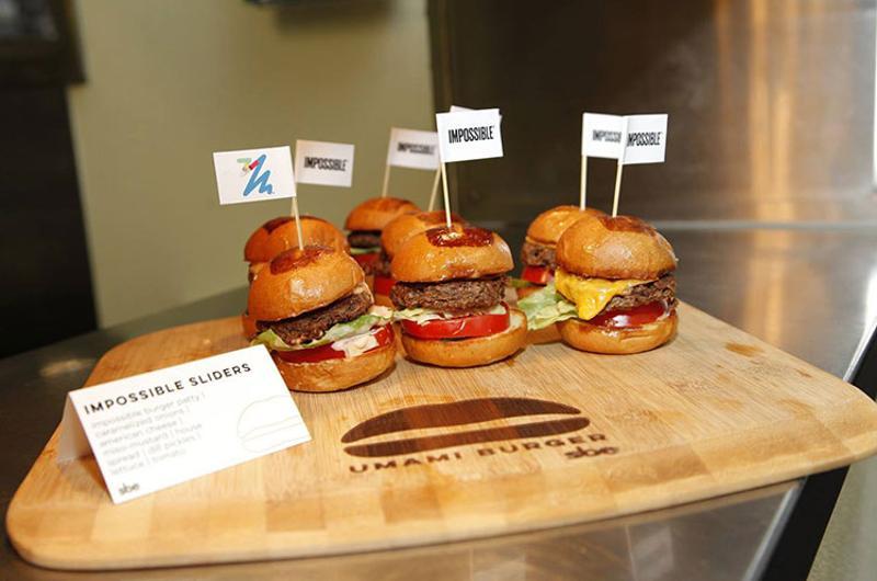 umami burger impossible sliders