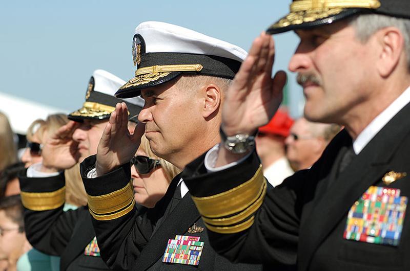us navy salute