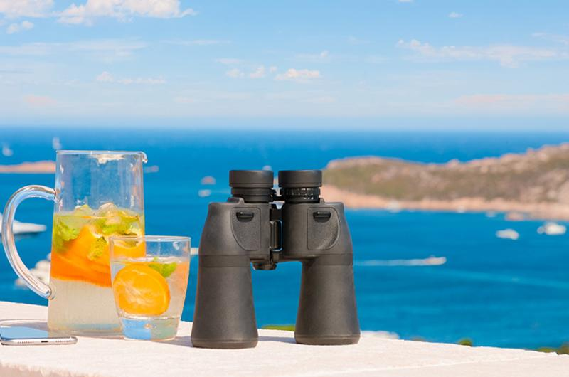 vacation binoculars coast