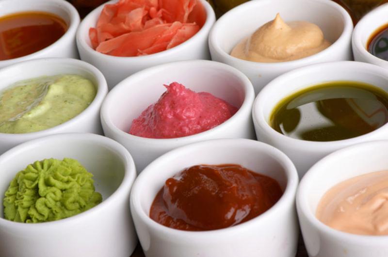 variety sauces versatile restaurant