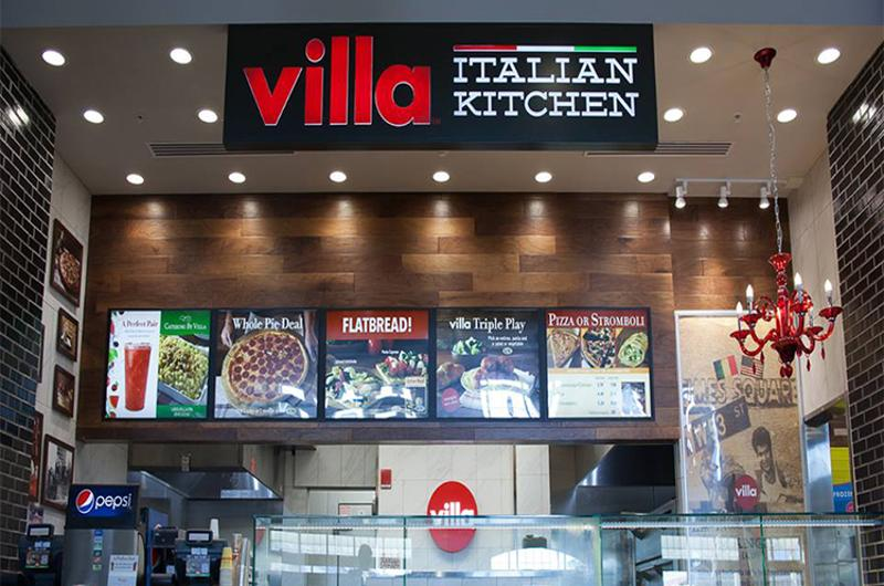 villa fresh italian kitchen interior