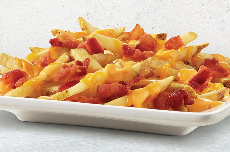 wendys baconator fries