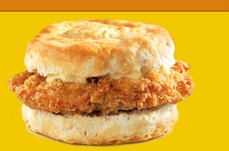 wendys honey butter chicken biscuit