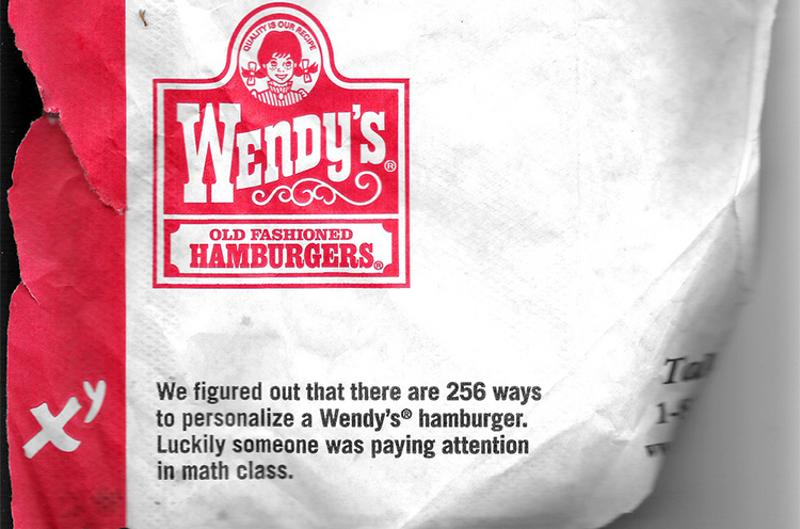 wendys personalize