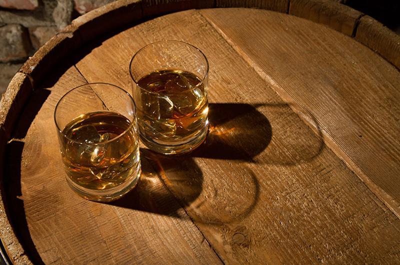 whiskey barrel drinks