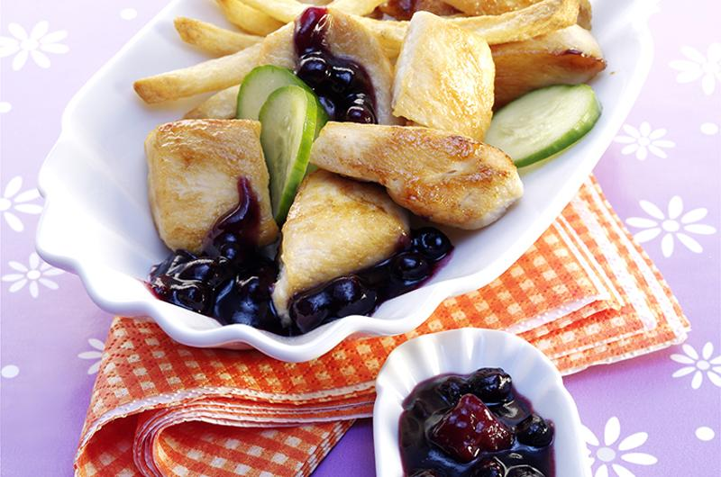 wild blueberry chicken