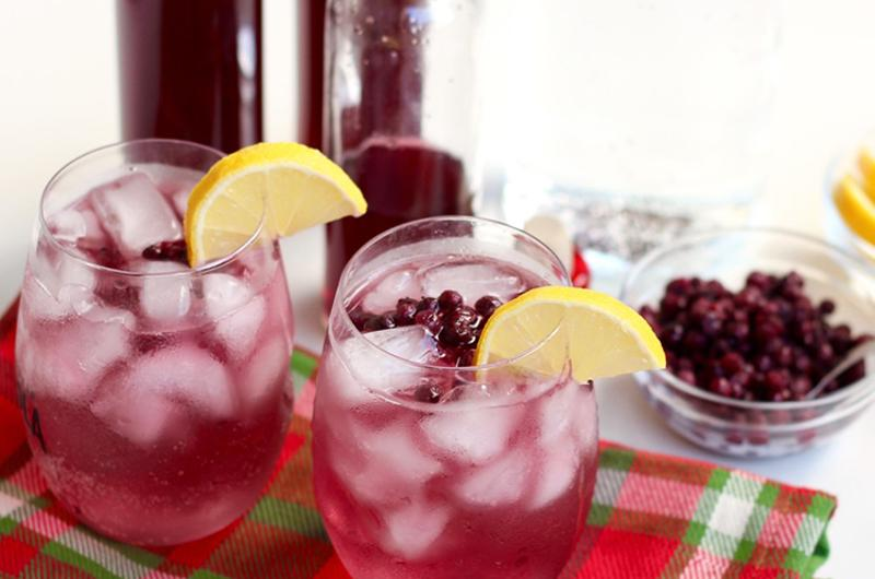 wild blueberry soda