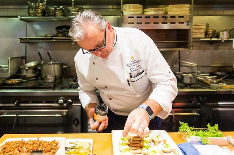 willard intercontinental chef peter laufer
