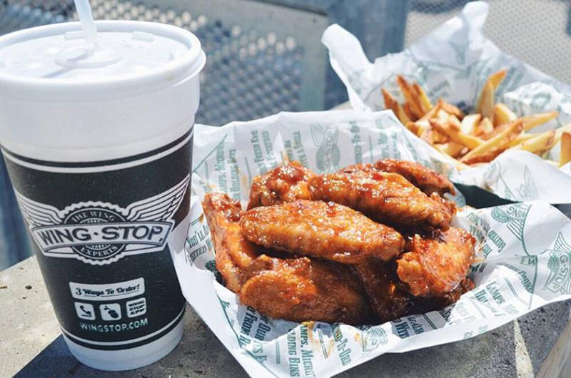 wingstop wings fries drink