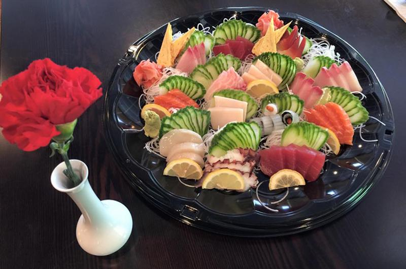 wonderful restaurant sushi platter