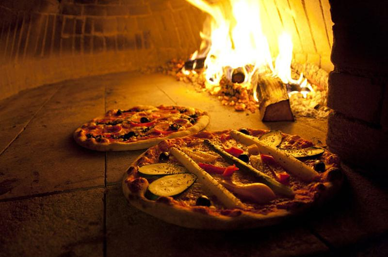 wood fired pizzas