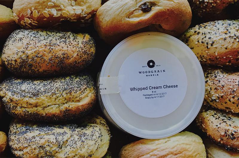 woodgrain bagels