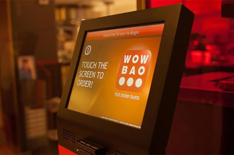 wow bao touch screen kiosk