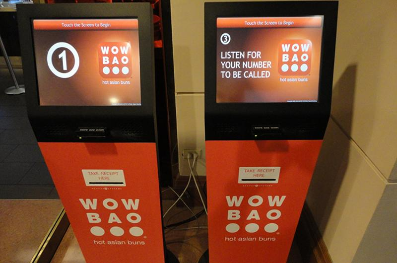 Wow Bao kiosks