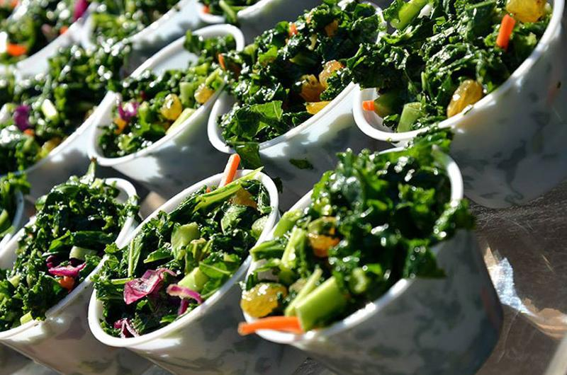 yale dining salad cups