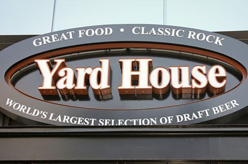 yard house sign