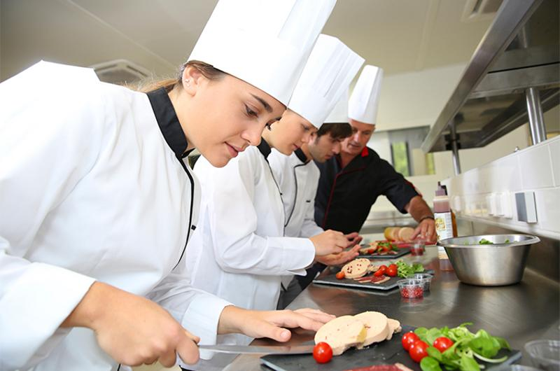young cooks chefs