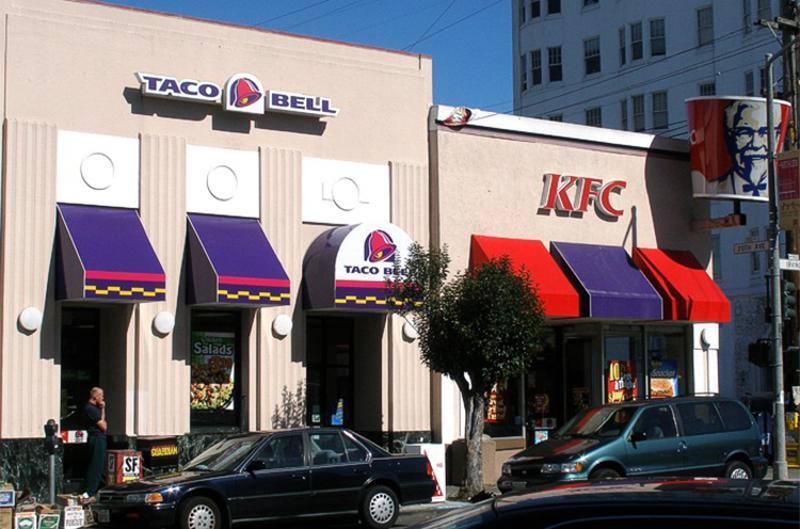 yum brands taco bell kfc