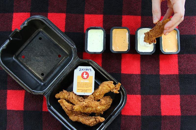 zaxbys chicken sauces