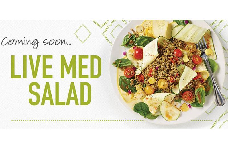 zoes kitchen med salad