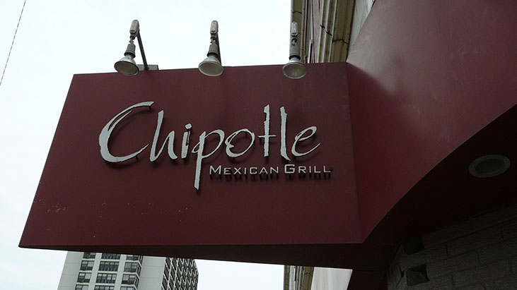 chipotle mexican grill sign