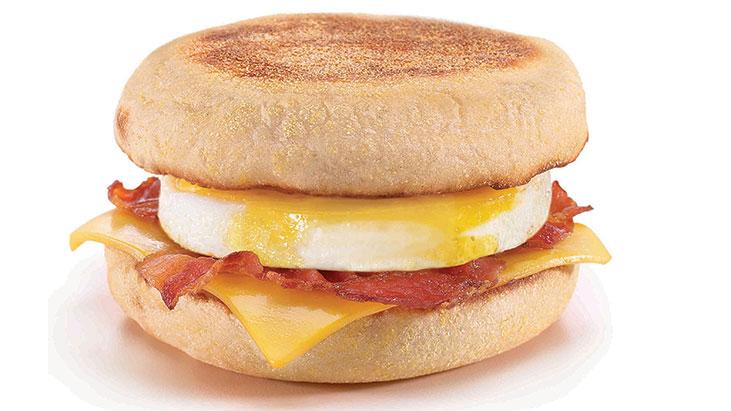 egg mcmuffin bacon