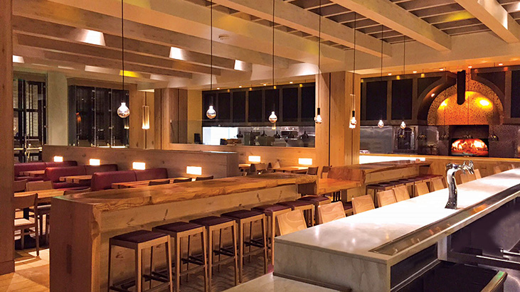 il fornaio woodland hill main dining room and bar