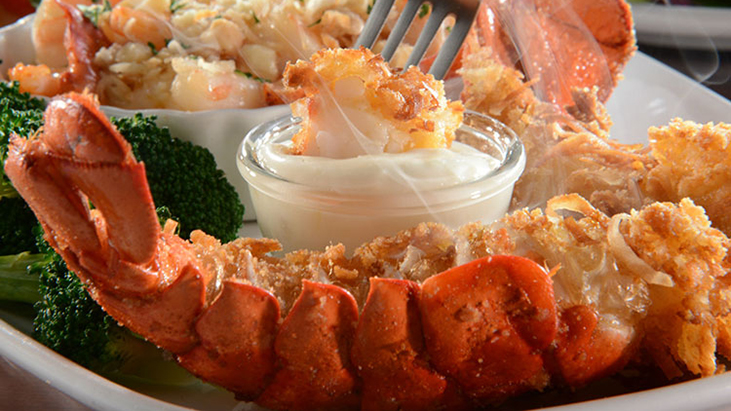 Red Lobster, Lobster in Paradise