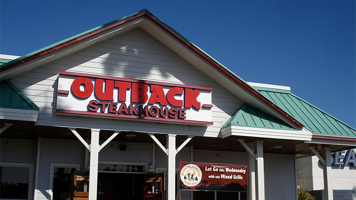 outback steakhouse exterior