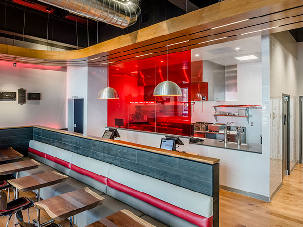 Open kitchens draw eyes to equipment