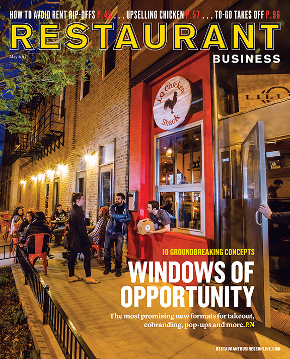 Restaurant Business Magazine May 2015 Issue