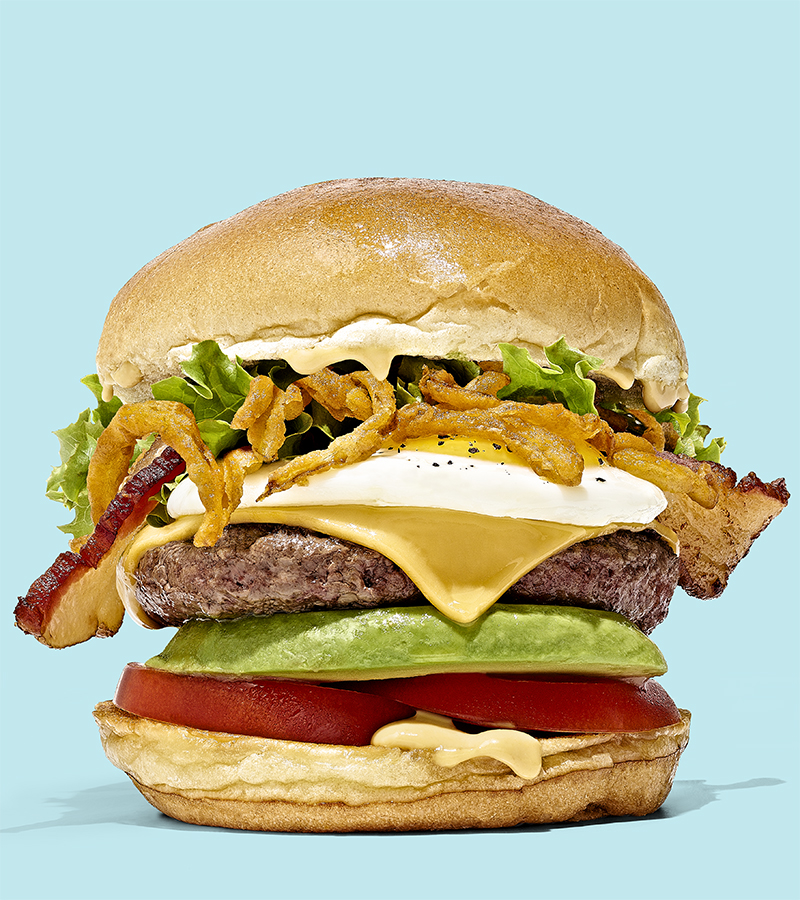 Stacked, Stack Your Own Burger