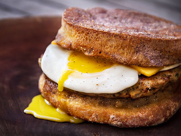 the royale egg sandwich