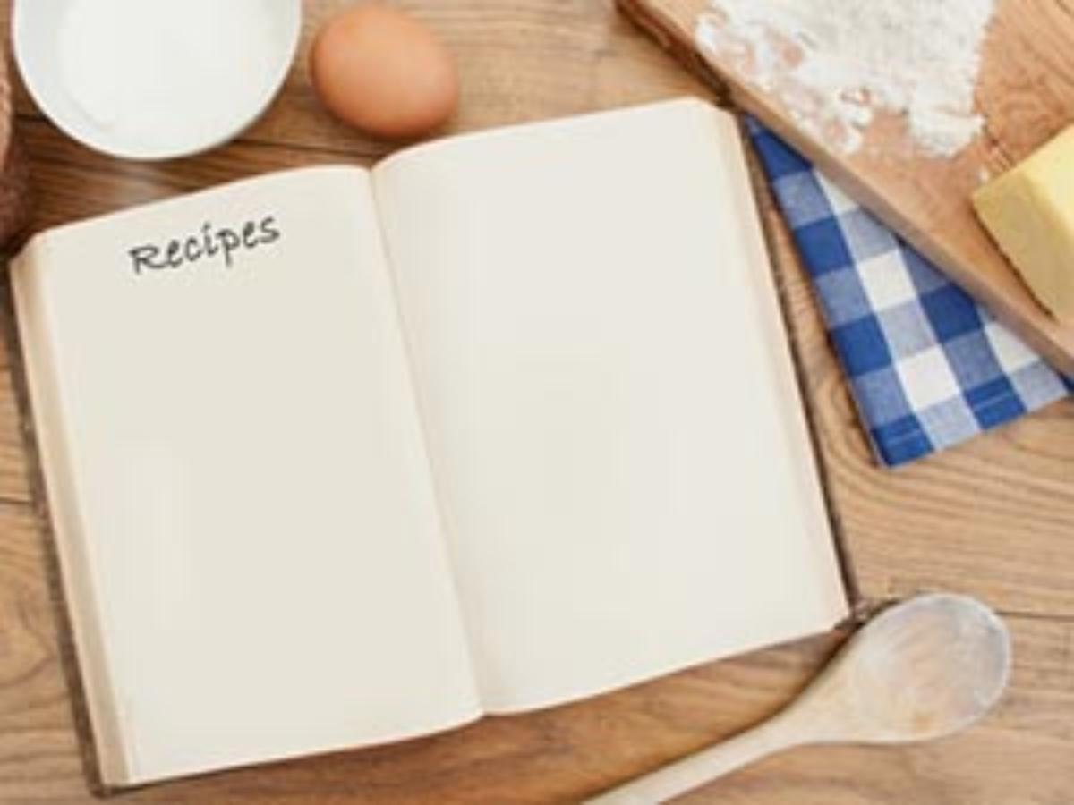 Restaurant cookbook