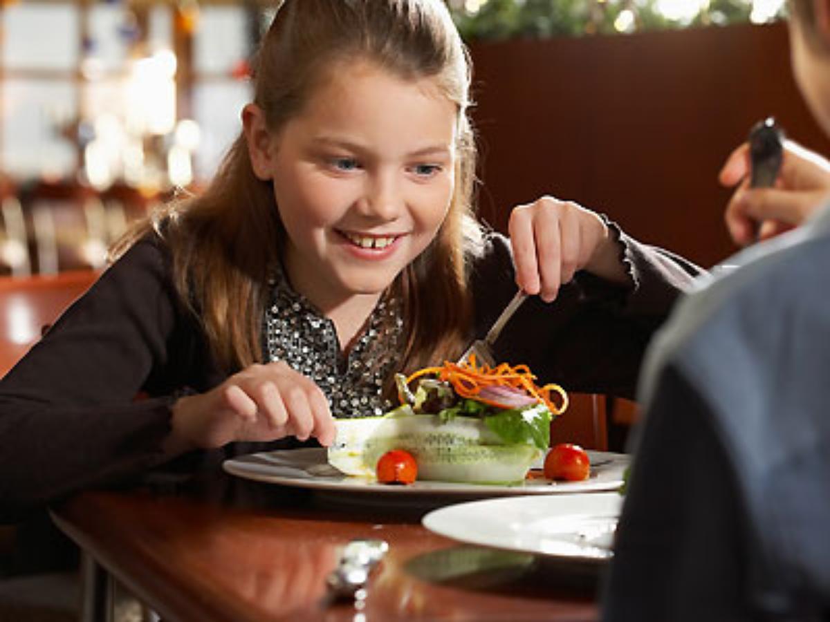 Unique kids' menu