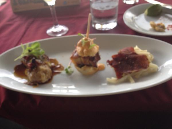 appetizer trio