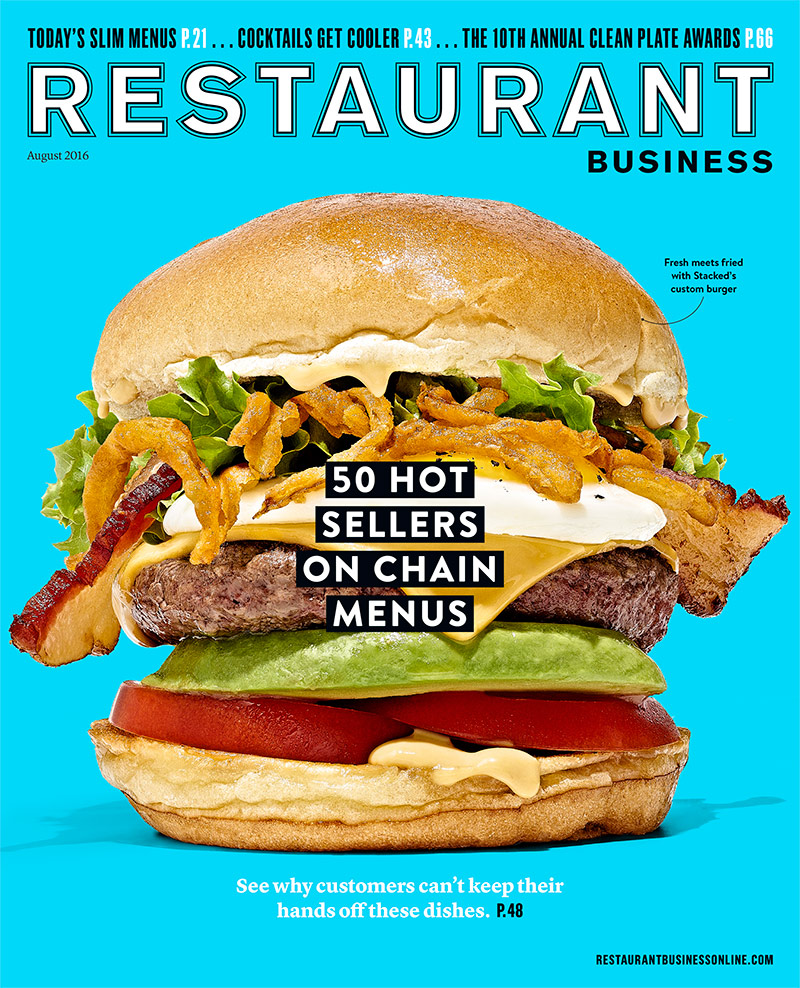 Restaurant Business Magazine August 2016 Issue