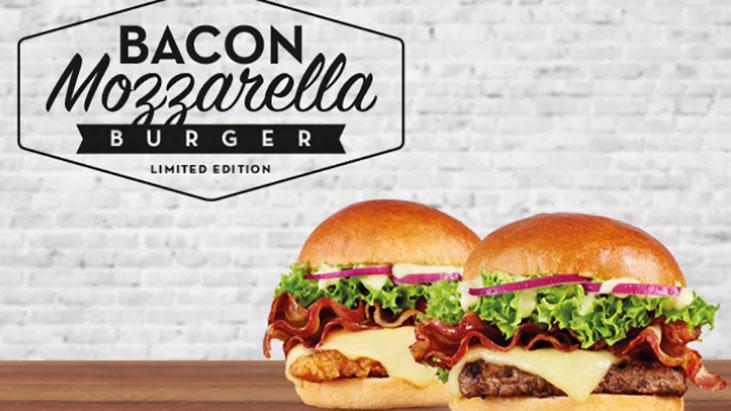 bacon mozzarella burger wendys