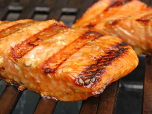 barbecue salmon grill