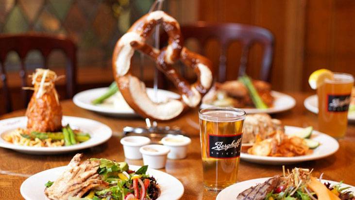 berghoff food table