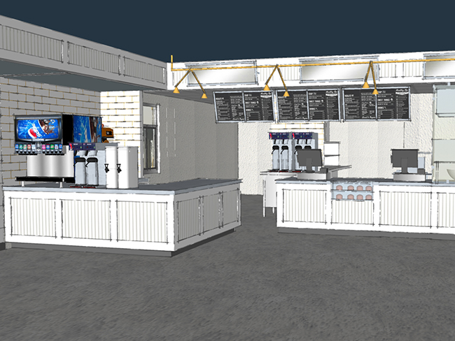 biscuitville renovated store rendering