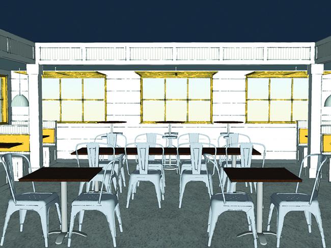 biscuitville store rendering