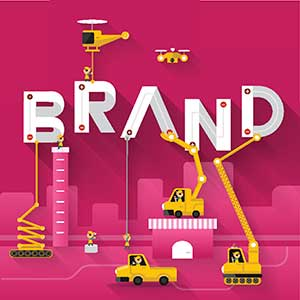 brand construction illustration