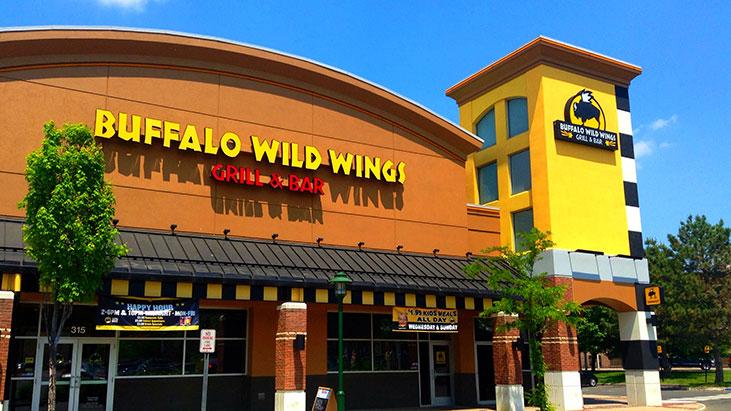 buffalo wild wings exterior