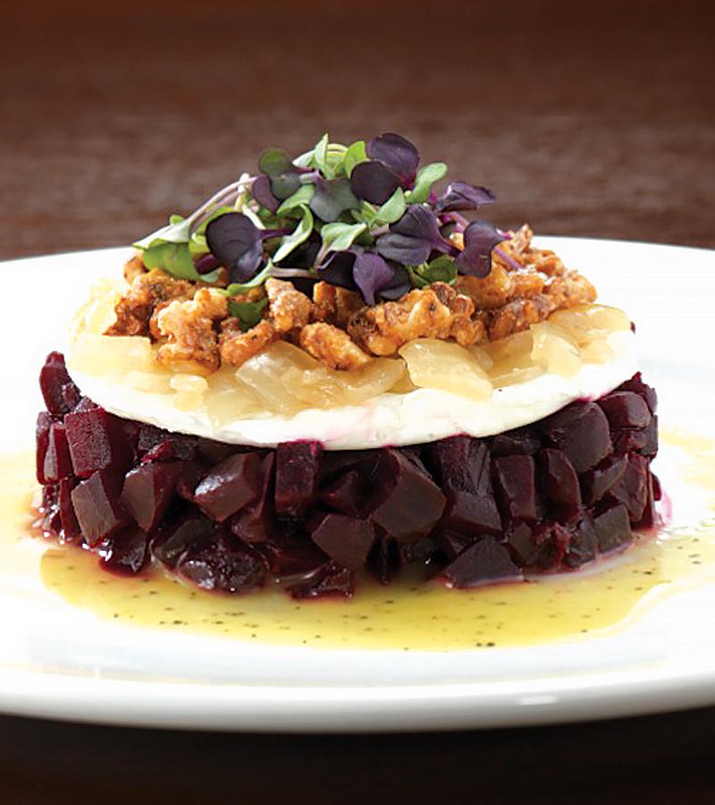 Burtons' Grilled Beet Salad