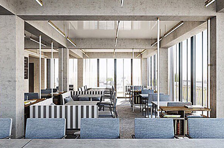 cabana club interior