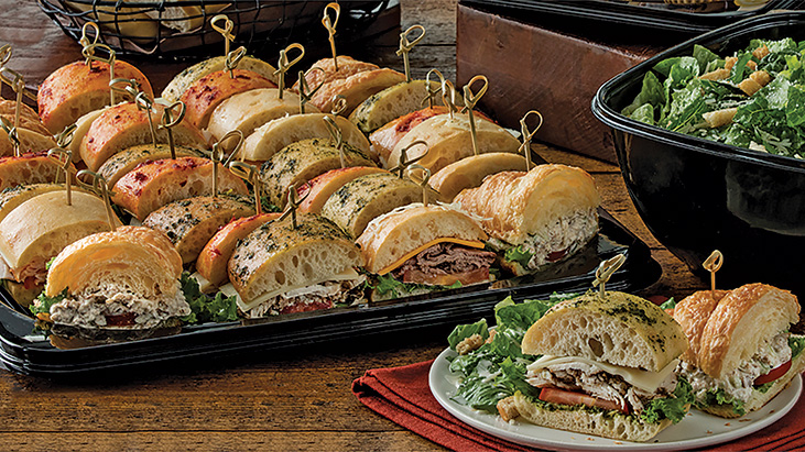 catering sandwich tray