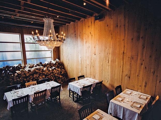 seven beef chandelier seats